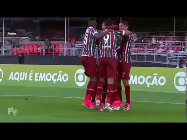 Gol de Wendel - São Paulo 1 x 1 Fluminense - Brasileirão 2017