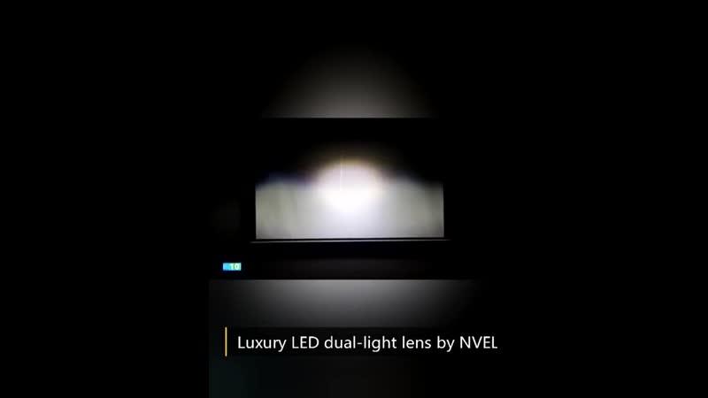 БИ-светодиодные линзы LED bi-lens SR-900 два светодиодных чипа