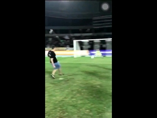 When you think youre Cristiano Ronaldo.... - - ...and - -