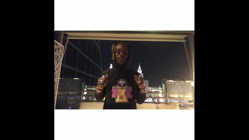 Lil Uzi Vert танцует под отрывок нового трека (часть 1)