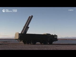 Кадры пуска ракеты