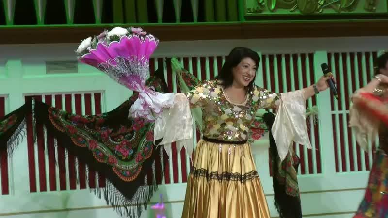 13 октября 2018 филармония театр цыганской песни Луизы Жемчужной