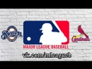 Milwaukee Brewers vs St. Louis Cardinals | 17.08.2018 | NL | MLB 2018 (1/3)