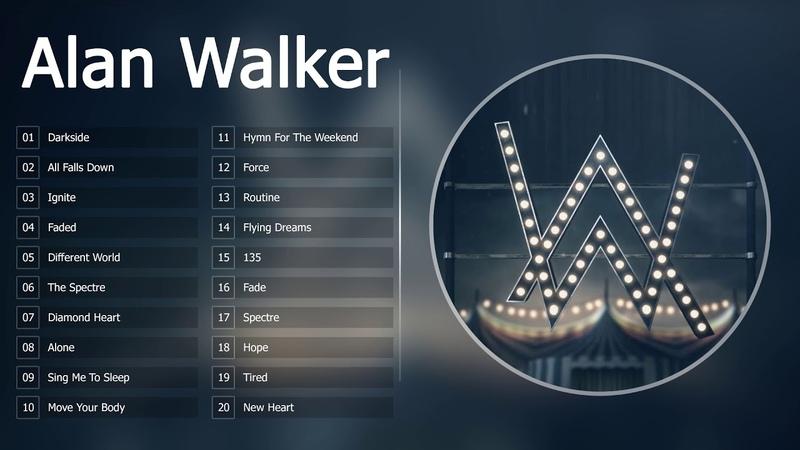 Top 20 Songs of Alan Walker - Best Of Alan Walker