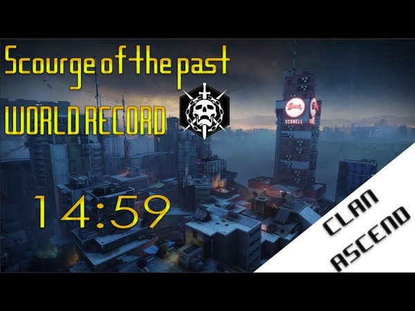 Speedrun Scourge of the Past World Record 14 59