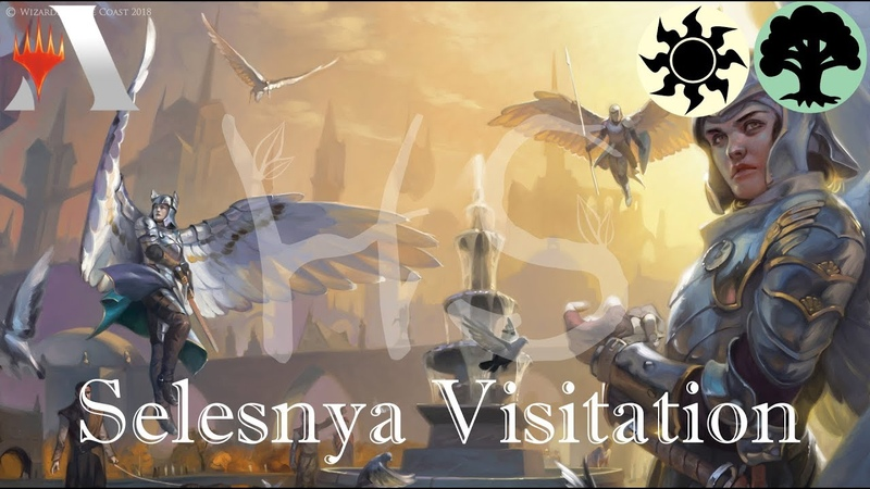 Magic Arena - Selesnya Visitation Deck Tech and Gameplay [GRN Standard]
