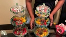 DIY candy dish dollar tree candy dish for party weddings baby shower or at home centerpiece