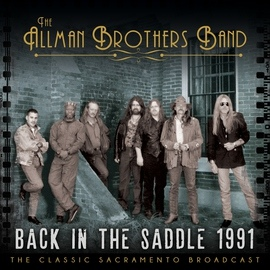 The Allman Brothers Band альбом Back in the Saddle 1991