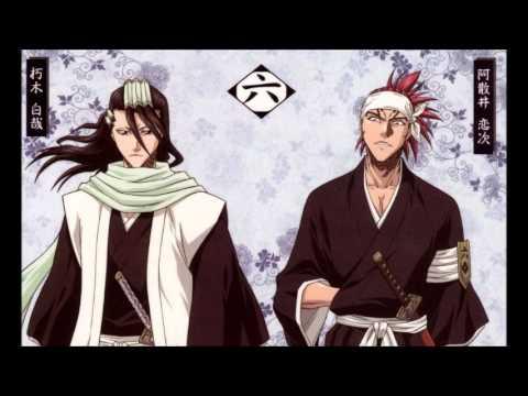 Kuchiki Byakuya Abarai Renji - Sen no Yoru wo Koete w/Lyrics