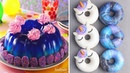 Chocolate Gelatin Cake Galaxy Donuts Yummy DIY Cake Recipes CAKE Decorating Tutorial Aug 14