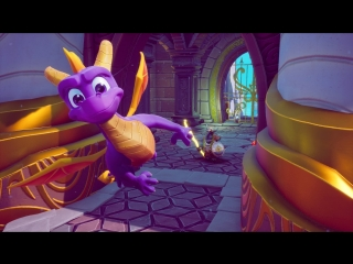 Spyro- reignited trilogy - all three games official gameplay - gamescom 2018