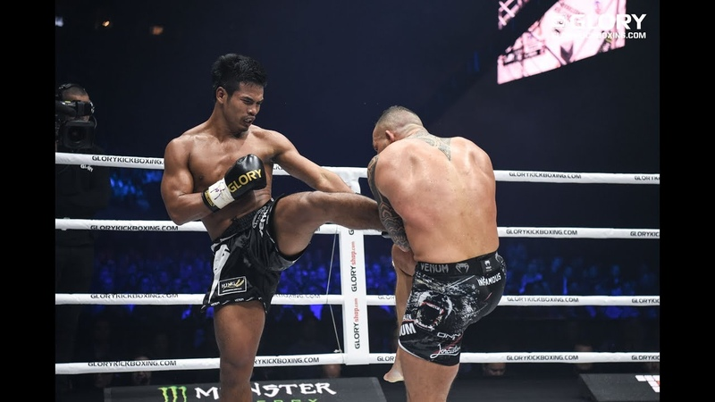 GLORY 59 Robin van Roosmalen vs Petchpanomrung Featherweight Title Bout Full Fight