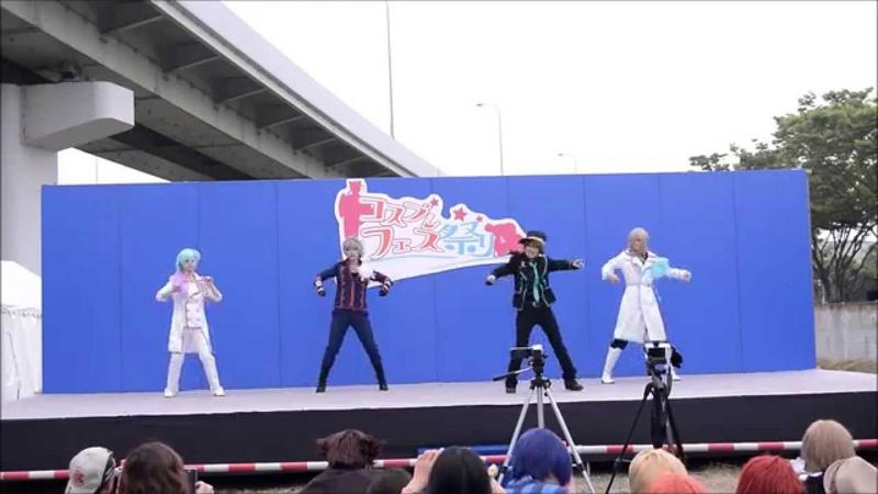 B★flat 7/6 コスプレフェス祭りINりんくうタウン うたの☆プリンスさま