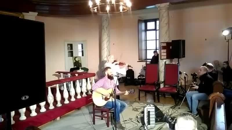 Witek Muzyk Ulicy - Występ w kościele ewangelicko-augsburskim Świętej Trójcy w Suwałkach, 7 maj 2017 rok