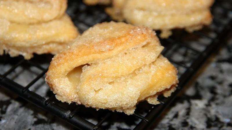 Остановиться невозможно!Печенье Гусиные лапки.Вкуснейшее угощение к чаю 2 варианта!