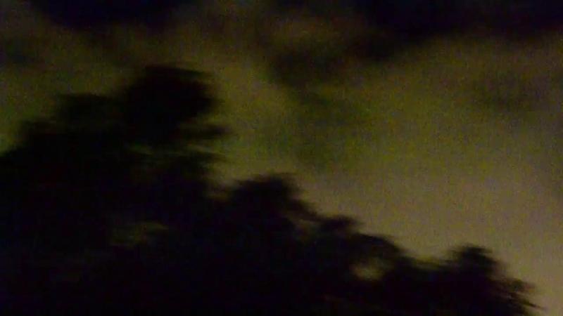 Ночной шторм в Петербурге 26-27 сентября