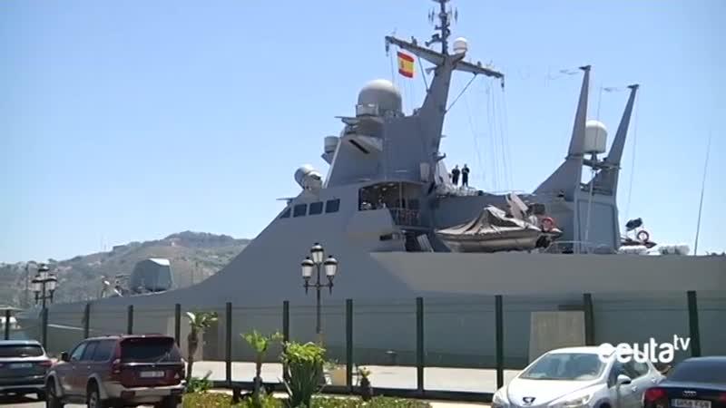 El retorno de la Armada Rusa a Ceuta tras siete meses