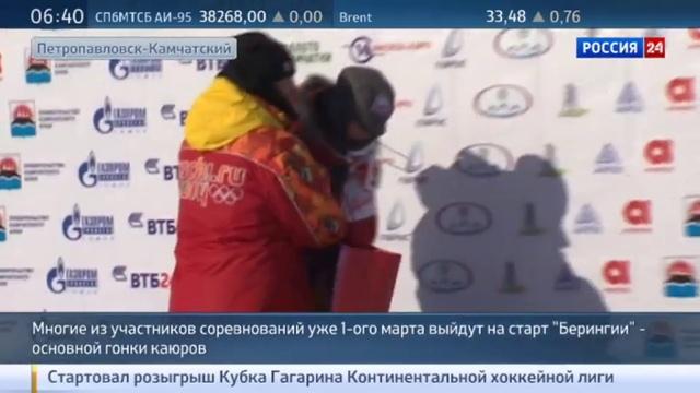 Новости на Россия 24 • Камчатские каюры померяются силами в массовой гонке на собачьих упряжках