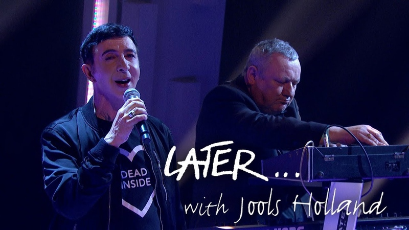 Soft Cell revisit Say Hello Wave Goodbye on Later… with Jools Holland
