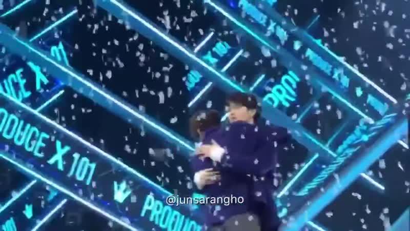 Yunseong junho hug