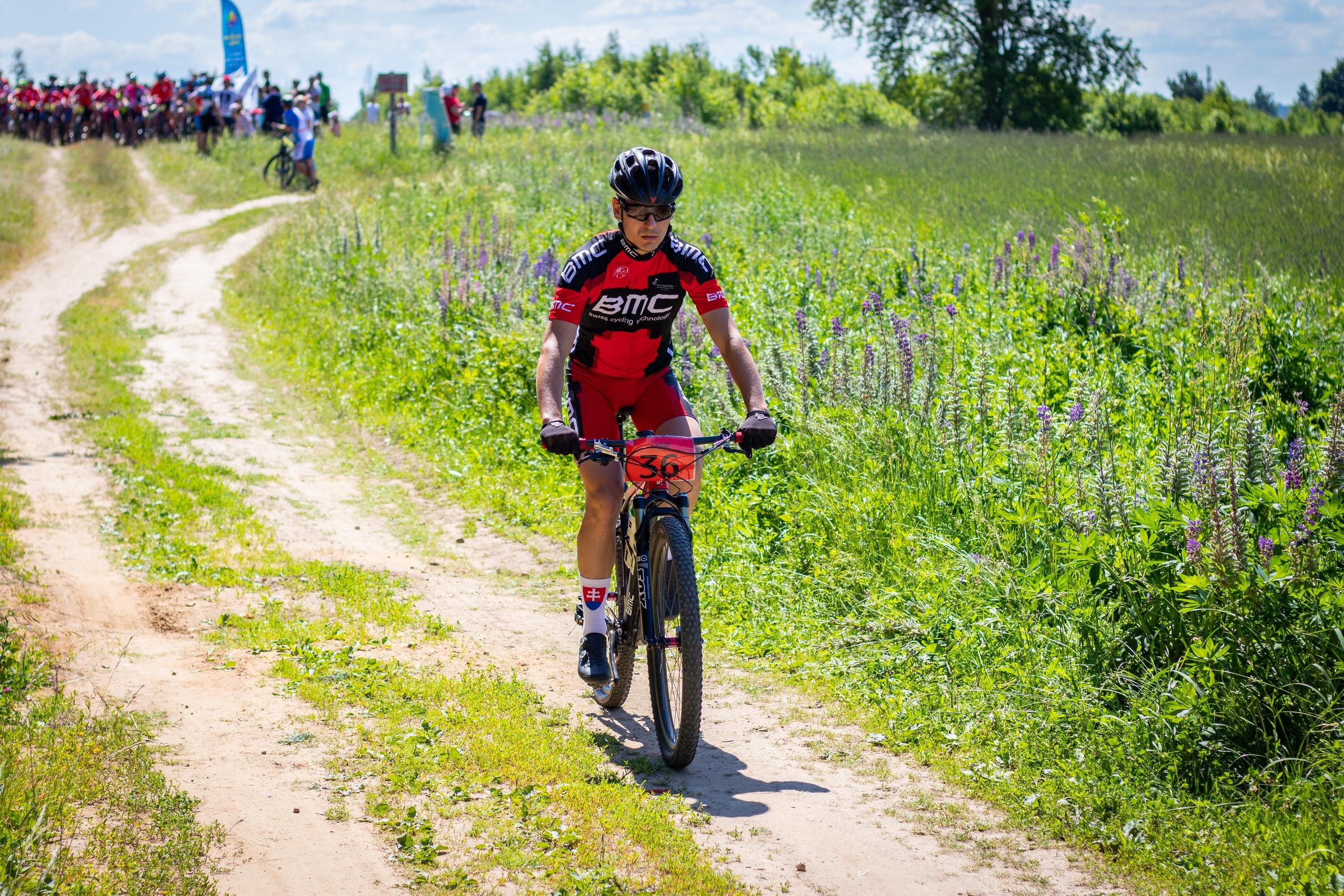 Виталий Белов. Спортсмен из Рыбинска на Шуйской велогонке 2019
