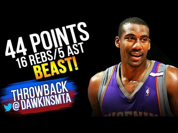 Young Amar'e Stoudemire Full Highlights 2005.04.08 at Warriors - 44 Pts, 16 Rebs, 5 Ast, BEAST!