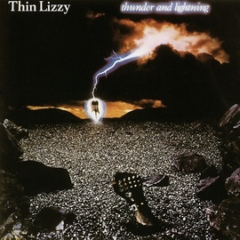 Thin Lizzy альбом Thunder & Lightning