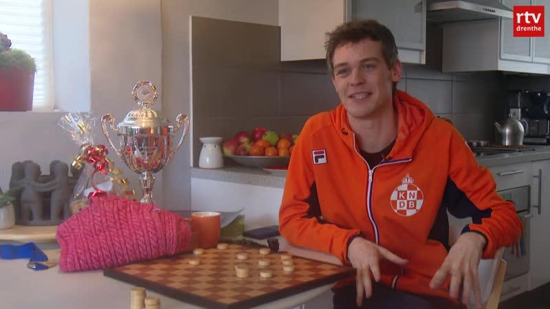 Истинная история с шарфом чемпиона по шашкам Roel Boomstra