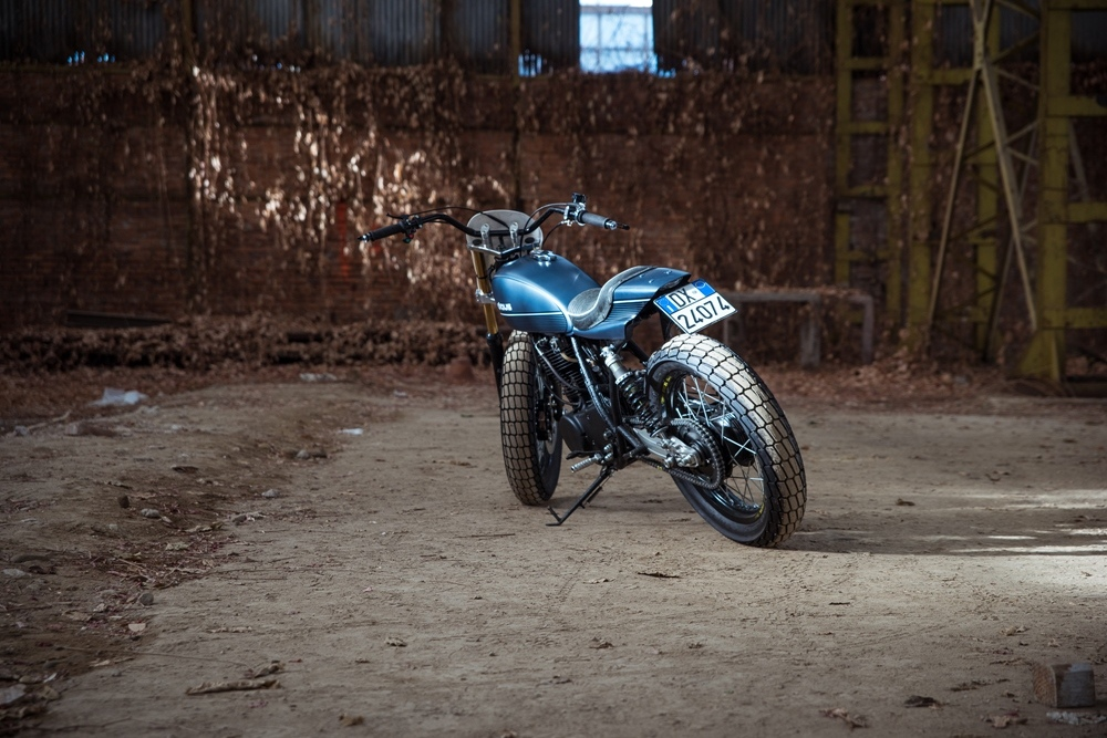 Deus Milano: кастом Yamaha SR500