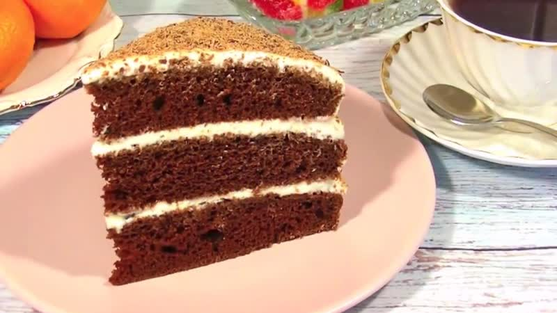 Быстрый тортик на кефире!