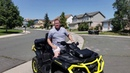 2019 Can Am outlander max XTP 1000 Stability test