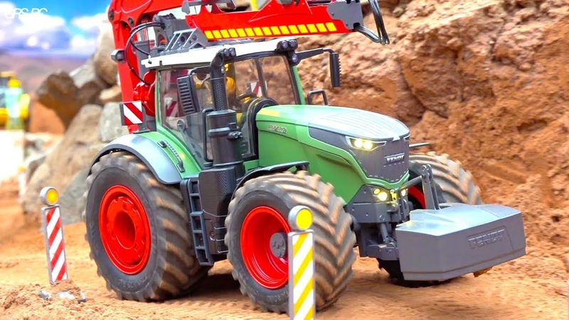 RC TRUCK TRACTOR ACTION I SUPER DETAILED CONSTRUCTION MACHINERY I CONSTRUCTIONWORLD