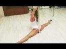 Тренировка для красивых ножек! Stretching Pole Dance Exotic miridance