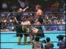 1993.09.09 - Akira Taue/Toshiaki Kawada/Yoshinari Ogawa vs. Stan Hansen/Joel Deaton/Ted Dibiase [JIP]