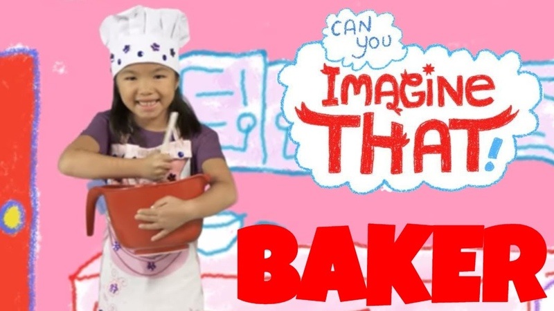 I want to be a Baker Kid's Dream Job Can You Imagine That