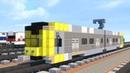 Minecraft LA Metro Kinkisharyo P3010 Light Rail Tutorial