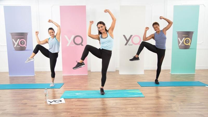 Allie Cihen - Full-Body HIIT Workout to Torch Calories | Интервальная кардио-тренировка для среднего уровня