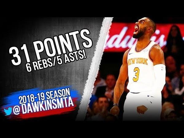 Tim Hardaway Jr Full Highlights 2018.10.17 NY Knicks vs Hawks - 31-6-5!   FreeDawkins
