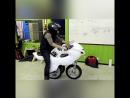 Складной мотоцикл