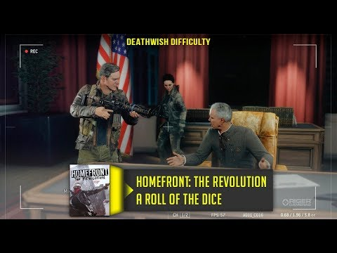 Homefront The Revolution A Roll of the Dice Walkthrough No Commentary Deathwish Difficulty