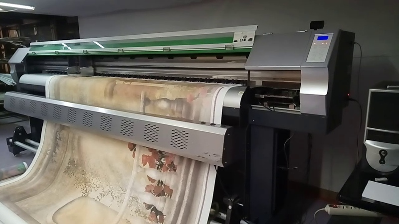 Интерьерный принтер Alfa AF-3202 DX-5, Москва, 20.11.18 после восстановления
