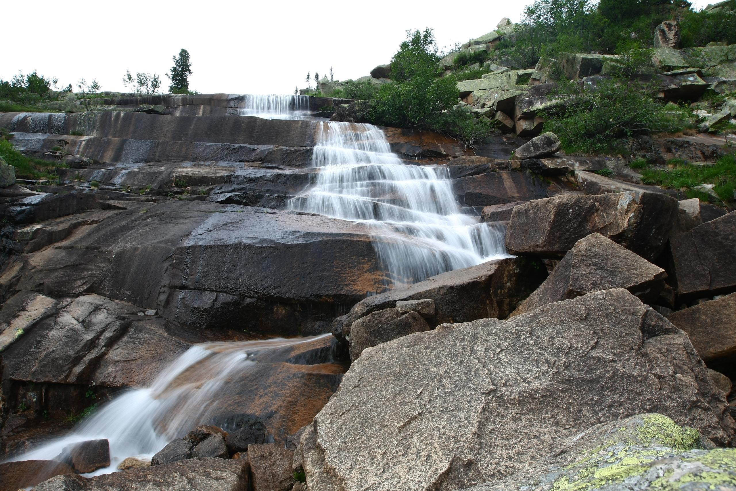 Водопад Мраморный. Фото: Константин Бураков