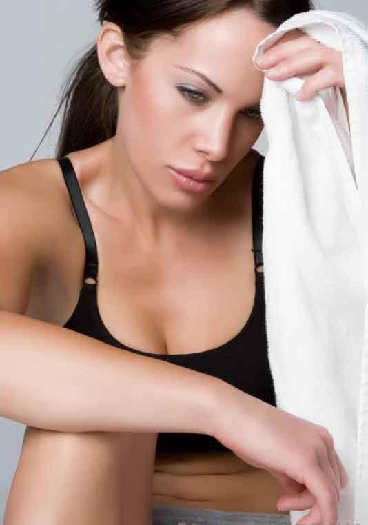 Блуждающий нерв участвует в запуске потовых желез, чтобы помочь регулировать температуру тела.