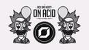 Rick and Morty On Acid RAZ 'Prog Psytrance' Remix ◉ GIF Video Clip 🤡 Remixes of Popular Songs