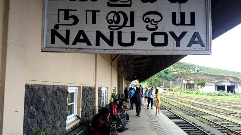Нану Ойя - самая высокогорная ж/д станция Шри Ланки