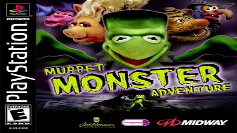 PS1 USA Muppet Monster Adventure 14 Arabian Frights