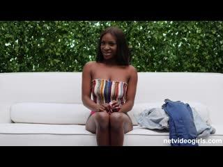 [netvideogirls.com] katia [2019, all sex, ebony, big tits, pierced, pov, 1080p]