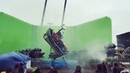 Fabian Wagner on Instagram Shooting stormy seas on land with a huge inflatable greenscreen some water wind and 2 Arri 435's on Technocranes