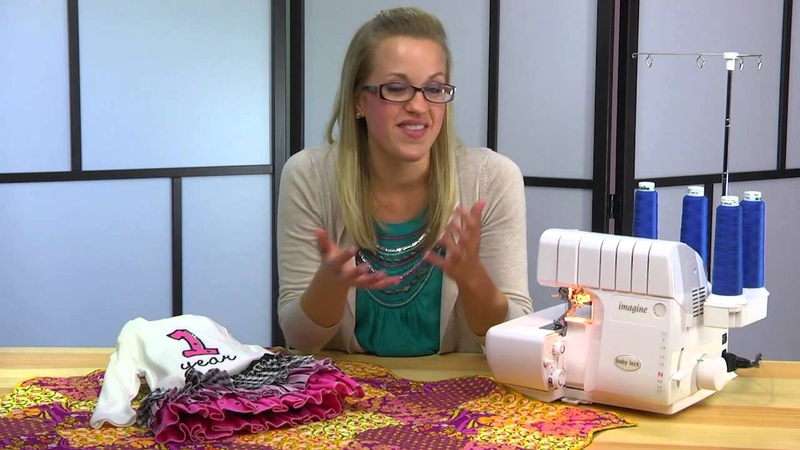 Baby Lock Imagine Serger Sneak Peek