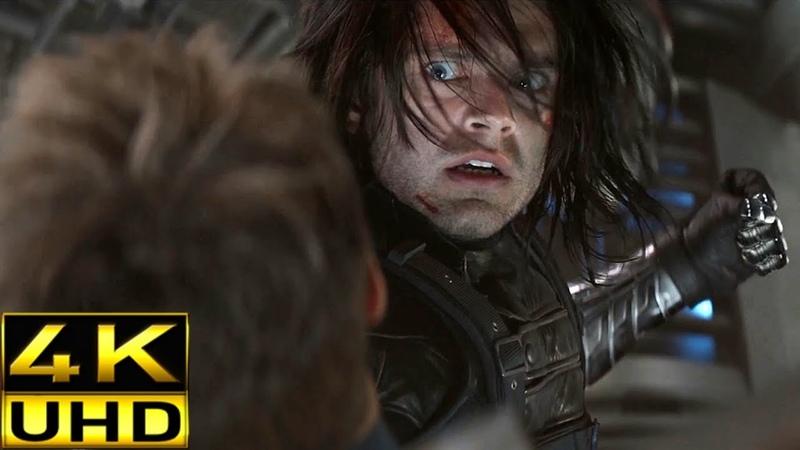 Captain America vs Bucky Part 2 Captain America The Winter Soldier 4K Ultra HD